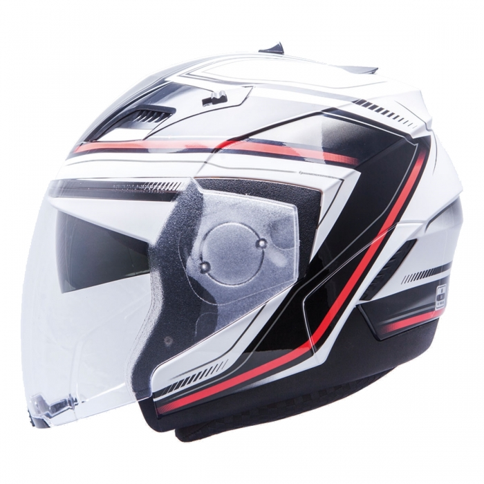 MT Helmets Convert Pragma black/red