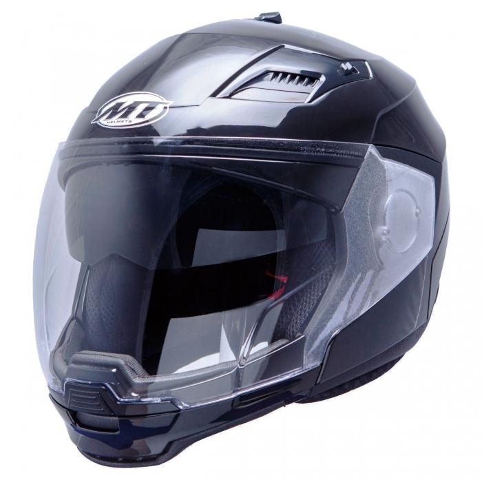 MT Helmets Convert Solid black украина