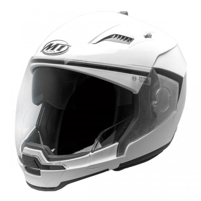 Шлем MT Helmets Convert Solid white