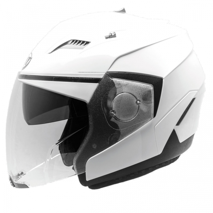 MT Helmets Convert Solid white