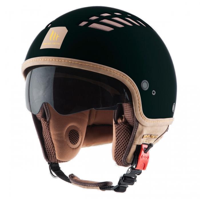 MT Helmets Cosmo Solid rubber black купить украина