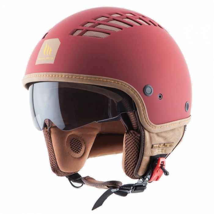Шлем  MT Helmets Cosmo Solid rubber red