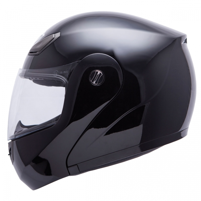 MT Helmets Coyote Solid black