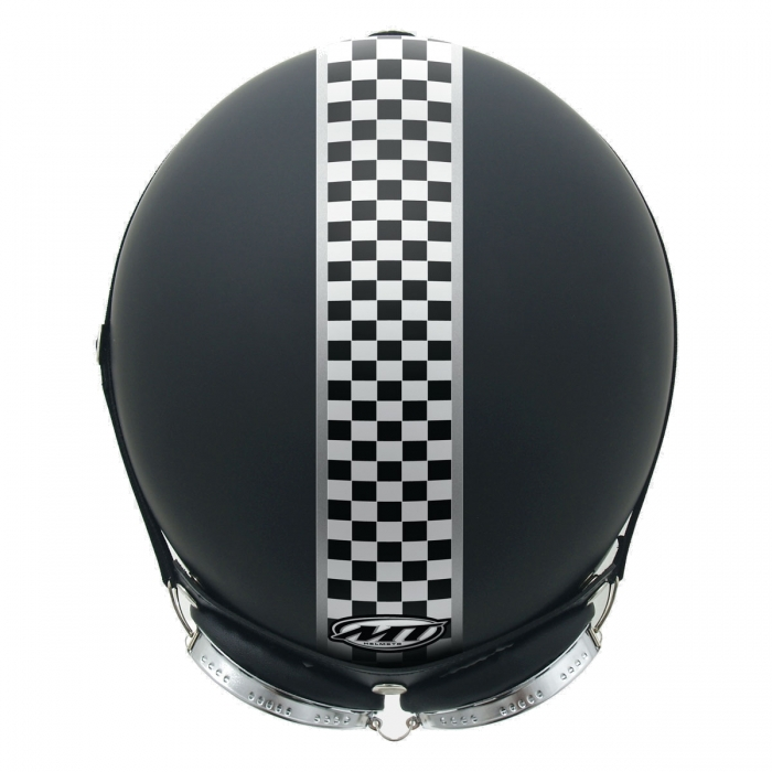 MT Helmets Custom Rider Flag black купить шлем киев