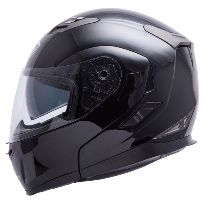 MT Helmets Flux Solid black