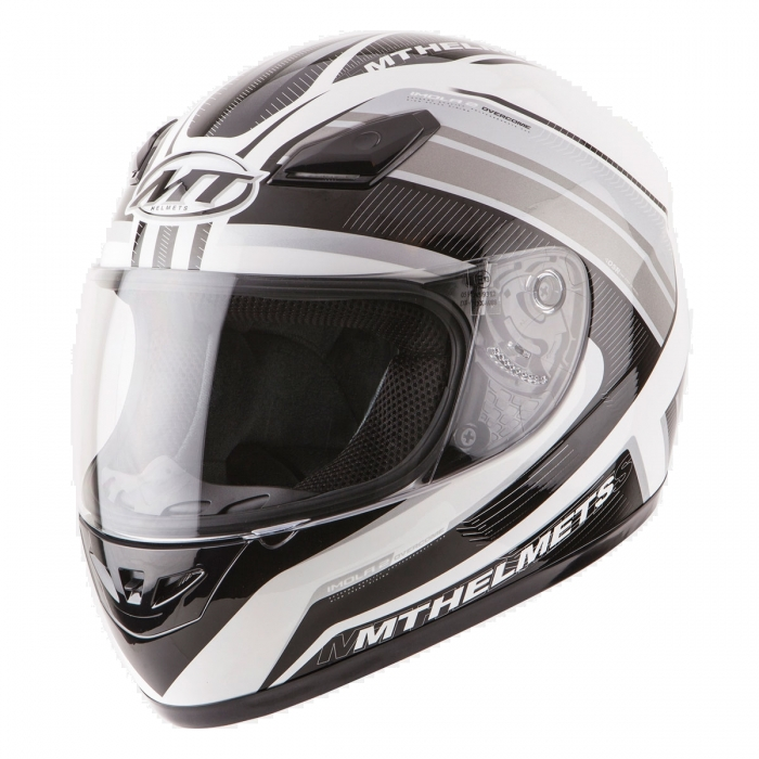 MT Helmets Imola 2 Overcome white/black