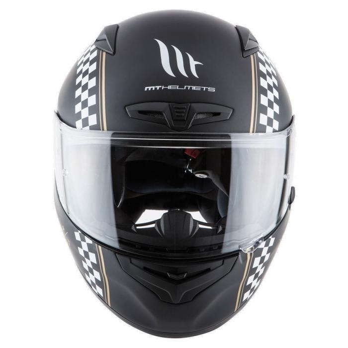 MT Helmets MATRIX Cafe Racer matt black