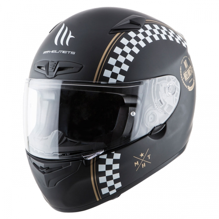 MT Helmets MATRIX Cafe Racer matt black