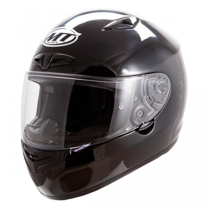 MT Helmets MATRIX Solid black