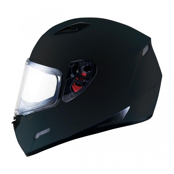 MT Helmets MUGELLO Solid gloss black