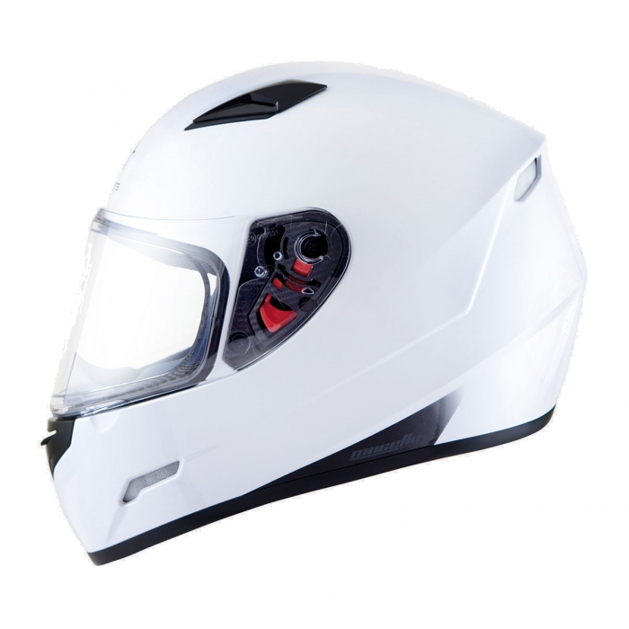MT Helmets MUGELLO Solid gloss white