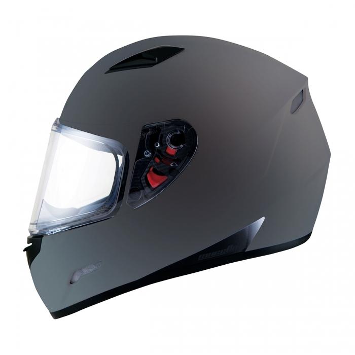 MT Helmets MUGELLO Solid matt titanium