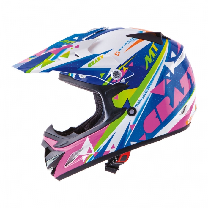 MT Helmets MX2 kids Crazy multicolor