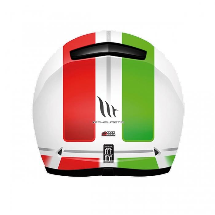 MT Helmets REVENGE Binomy black/red/green