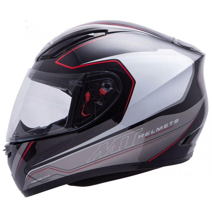 MT Helmets REVENGE LIMITED-EVO white/black