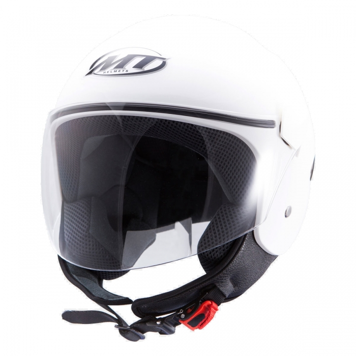 MT Helmets Sport City Solid matt white шлем купить