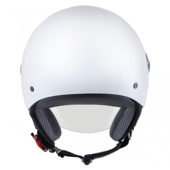 MT Helmets Street Solid white цена шлема
