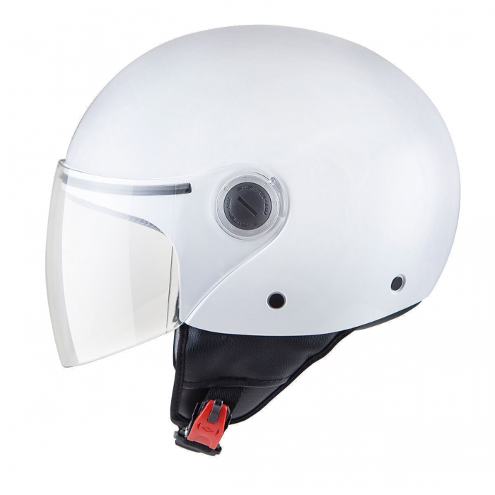 MT Helmets Street Solid white