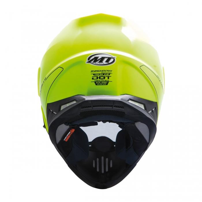 Купить MT Helmets Synchrony DUO SPORT fluor yellow