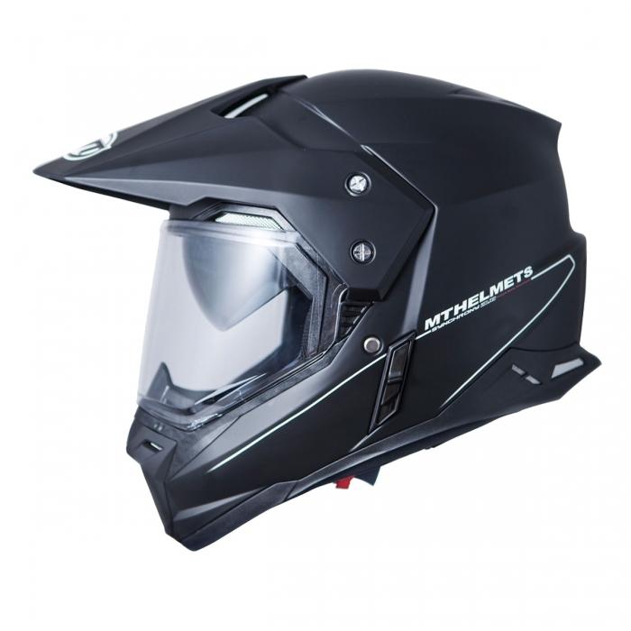 MT Helmets Synchrony DUO SPORT matt black