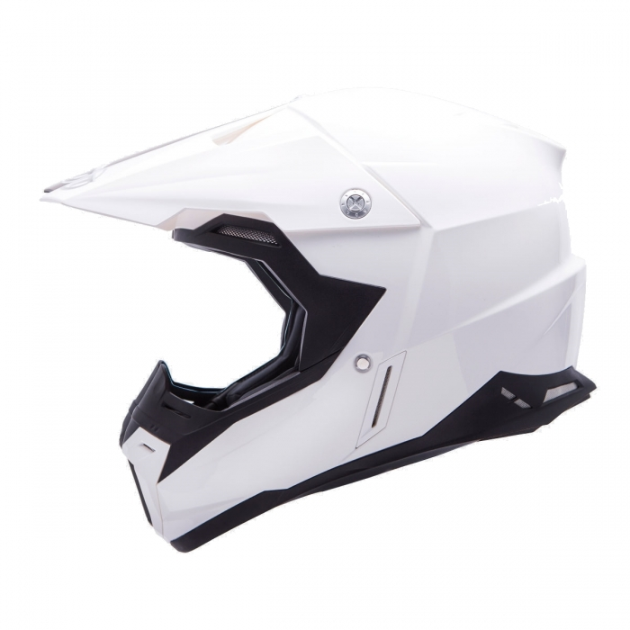 MT Helmets Synchrony Solid white