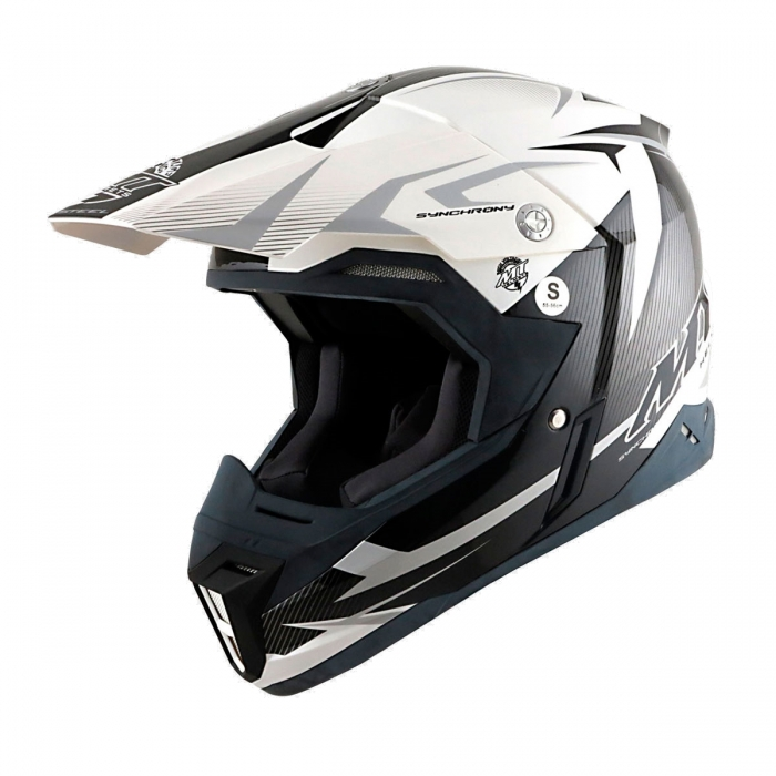 MT Helmets Synchrony Steel black/white/grey