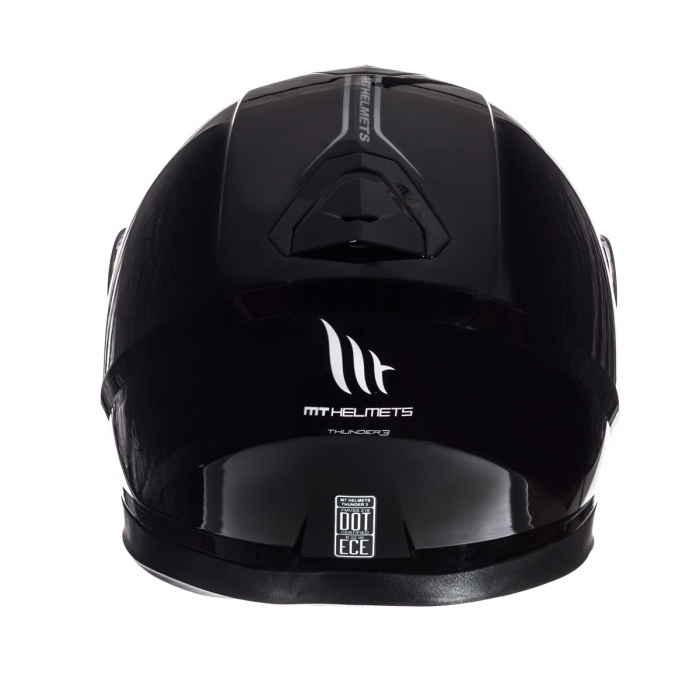 Шлем MT Helmets Thunder 3 Solid gloss black купить