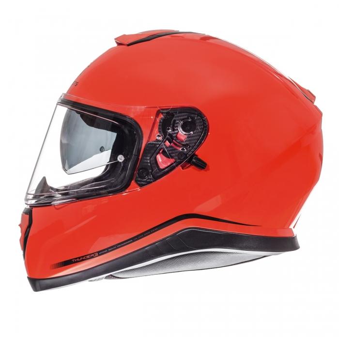 MT Helmets Thunder 3 Solid hi-viz orange