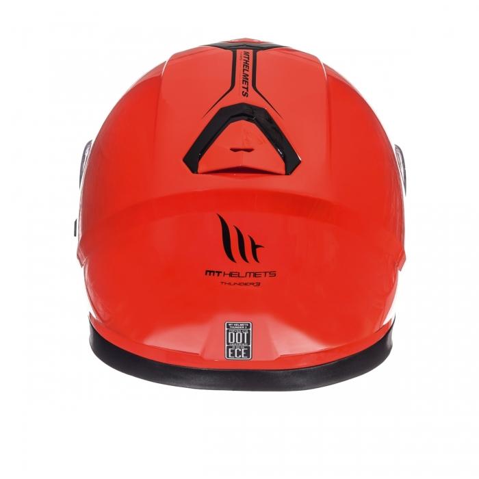 MT Helmets Thunder 3 Solid hi-viz orange цена
