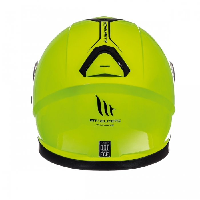 MT Helmets Thunder 3 Solid hi-viz yellow цена