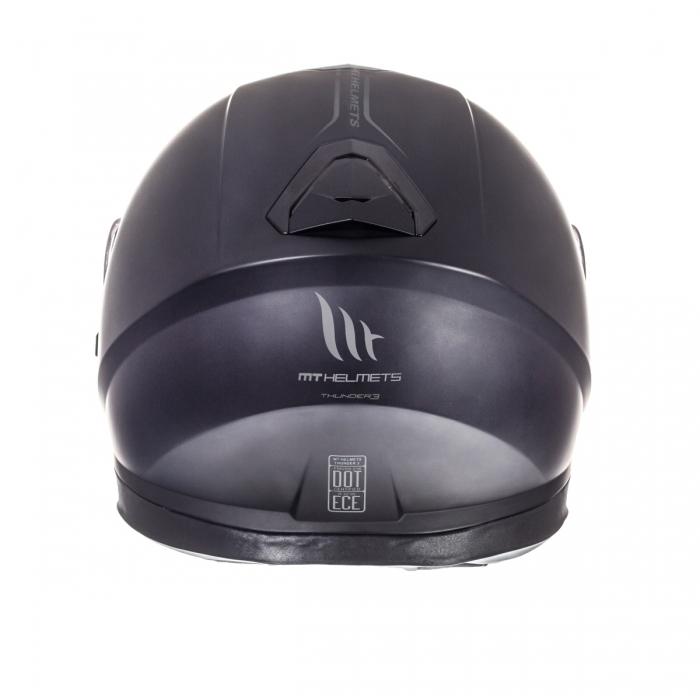 MT Helmets Thunder 3 Solid matt black купить днепр