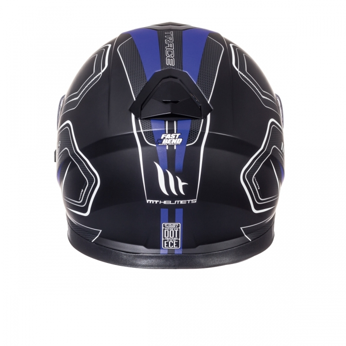 MT Helmets Thunder 3 Trace matt black blue купить в днепропетровске