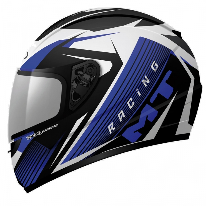 MT Helmets Thunder Axe black/blue