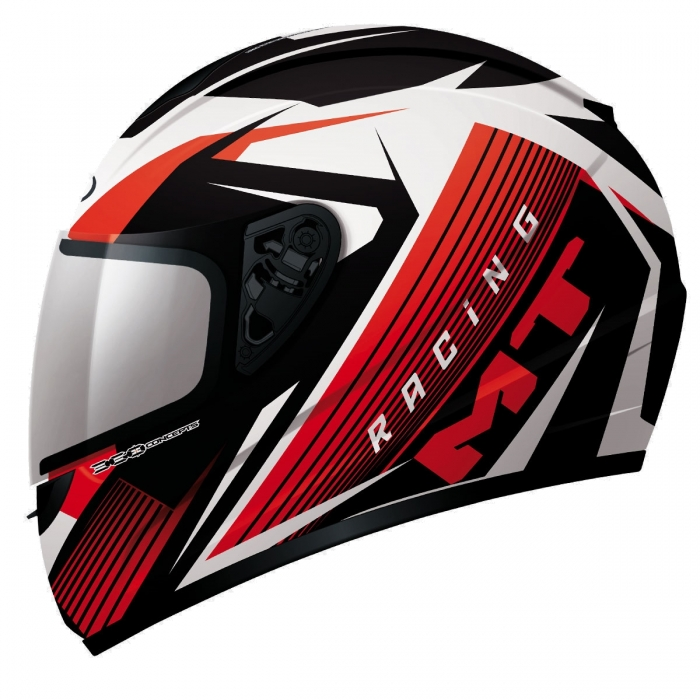 MT Helmets Thunder Axe black/red