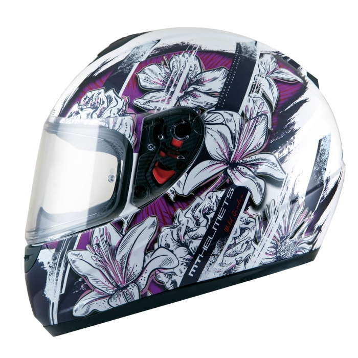 MT Helmets Thunder Kids Wild Garden
