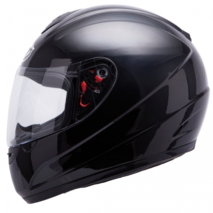 MT Helmets Thunder Solid black