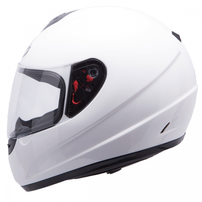 MT Helmets Thunder Solid white