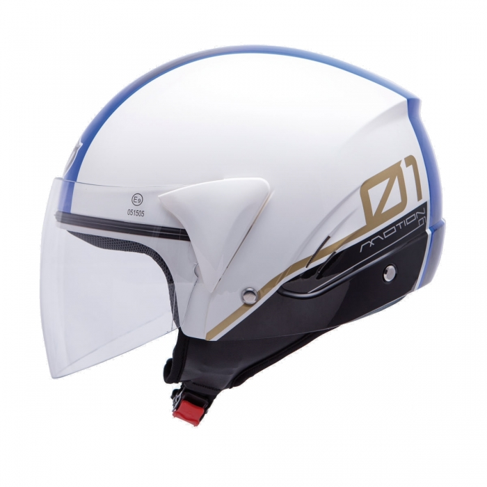 MT Helmets Ventus Motion 01 white/blue