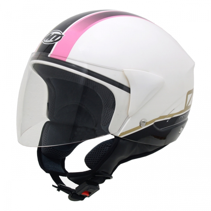 MT Helmets Ventus Motion 01 white/pink цена