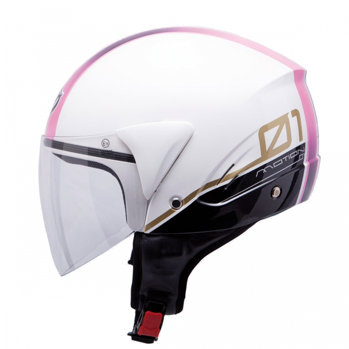 MT Helmets Ventus Motion 01 white/pink