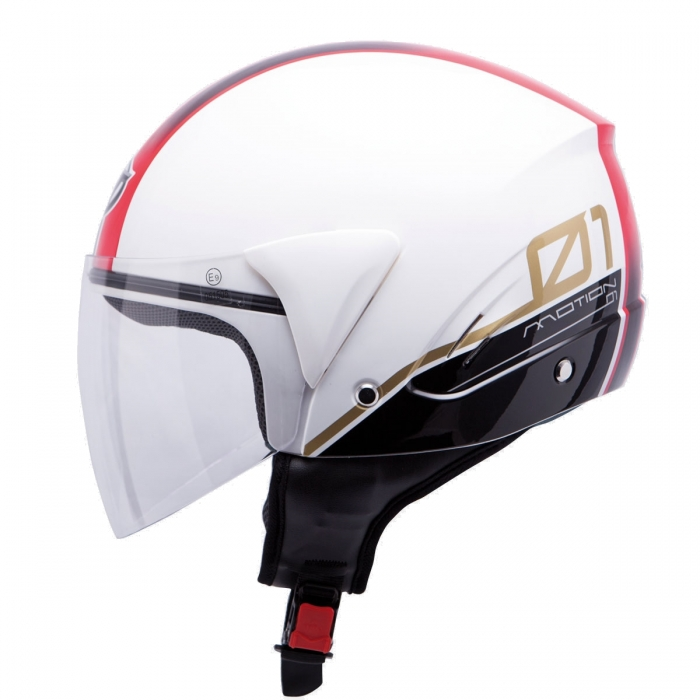MT Helmets Ventus Motion 01 white/red