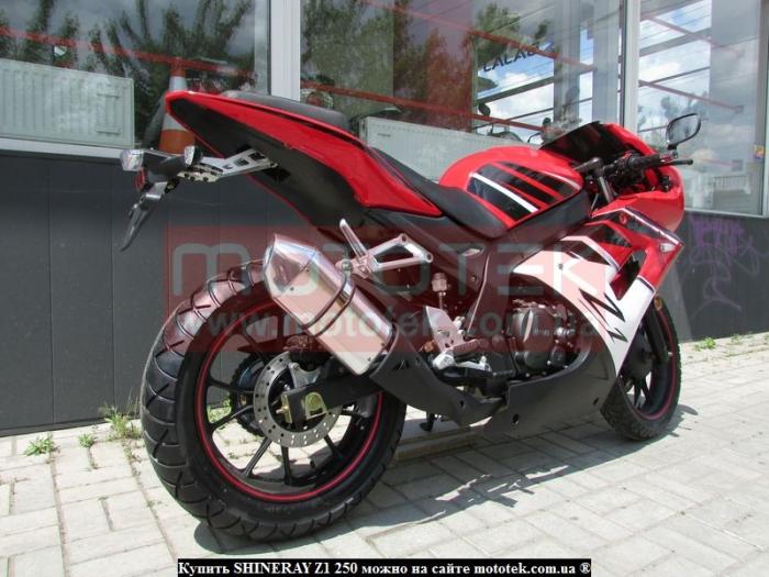 мотоцикл shineray z1 обзор