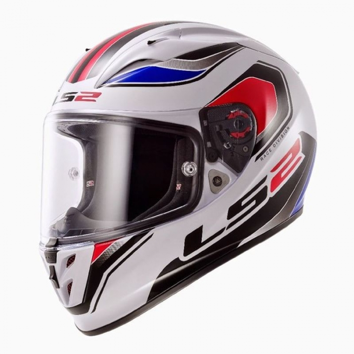 Шлем LS2 FF323 Arrow R Geo White Blue Red