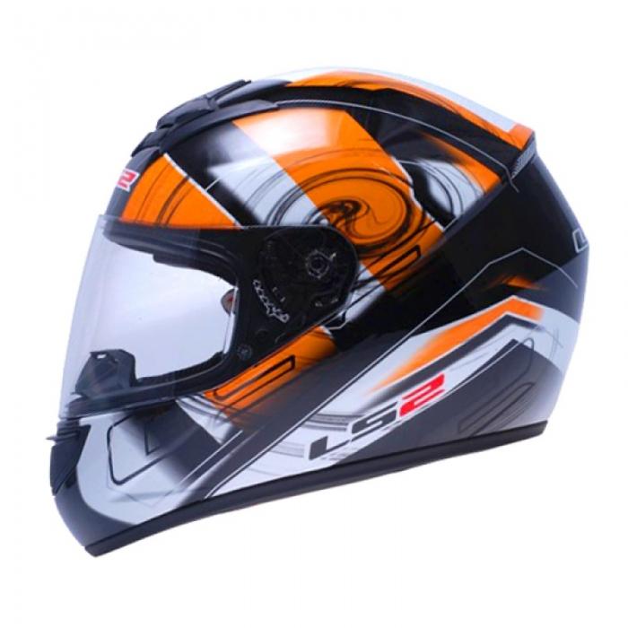 Шлем LS2 FF351 Action Black-Orange