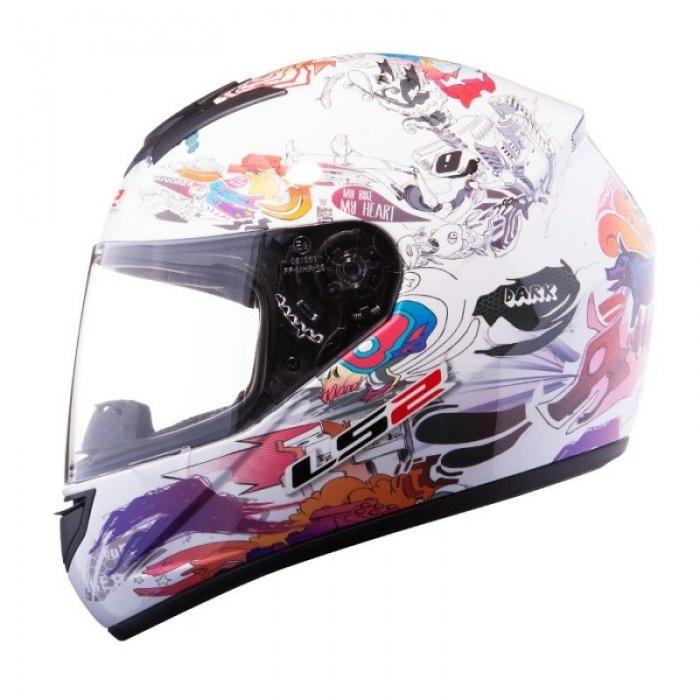 Шлем LS2 FF351 Comic White Gloss
