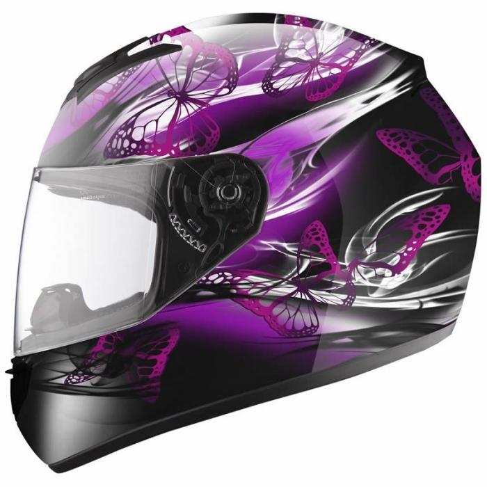 Шлем LS2 FF351 Flutter Black-Pink