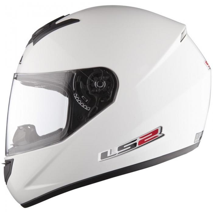 Шлем LS2 FF351 Single Mono White