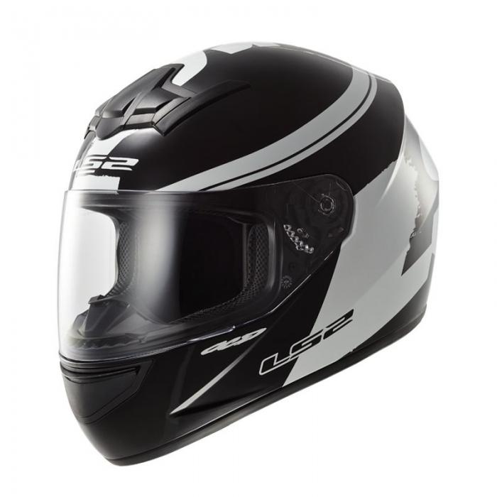 Шлем LS2 FF352 Rookie Fluo Hi-Vis White