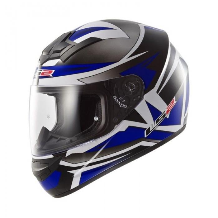 Шлем LS2 FF352 Rookie Gamma Black-Blue