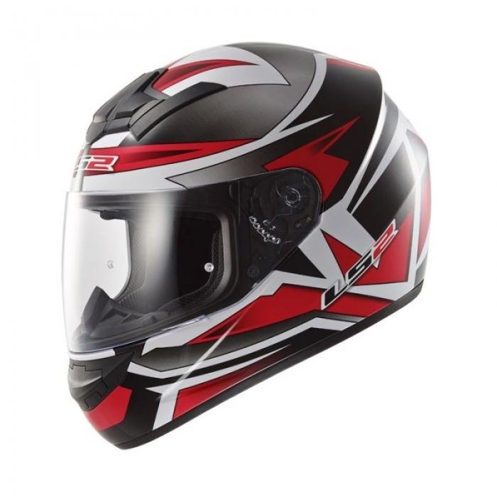 Шлем LS2 FF352 Rookie Gamma Black-Red